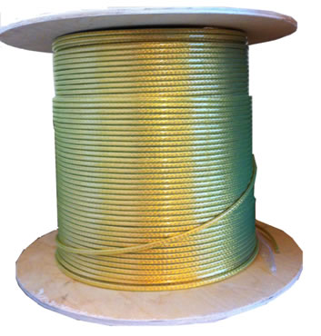 Copper Earth Bonding Cable with high visibility PVC cover