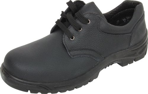 Safety shoe with antistatic sole