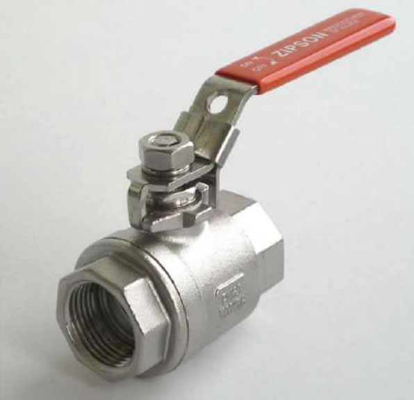 ZIPSON'S 201F 2-piece ball valve