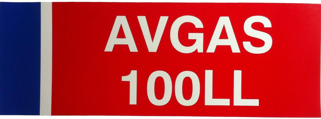 AVGAS Decal