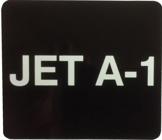 Jet A1 Decal 75x65mm