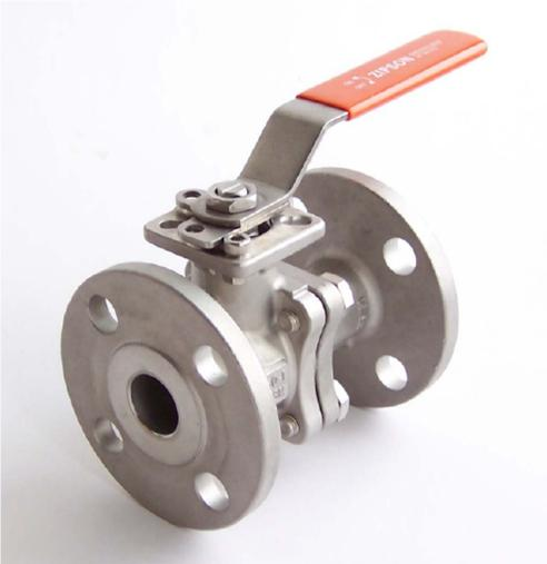 ZIPSON'S 207S 2-piece flanged ball valve